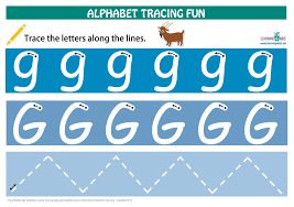printable alphabet mat number letters tracing mats standard print learning 4 kids