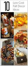 Fall Decorations For Outside The Home Best 25 Cheap Fall Decorations Ideas On Pinterest Cheap