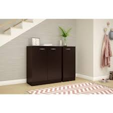 south shore storage cabinet south shore axess chocolate storage cabinet 10183 the home depot