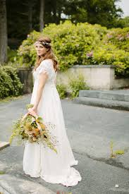 wedding dress garden party a bespoke 1960s inspired gown for a garden party wedding filled