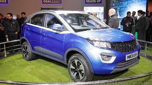 indian car tata tata nexon crossover visits auto expo as production model