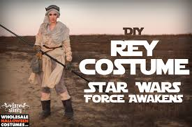 Skyrim Halloween Costumes Sale Star Wars Force Awakens Diy Rey Costume Wholesale Halloween