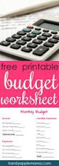 Family Budget Spreadsheet 25 Best Household Budget Worksheet Ideas On Pinterest Budget