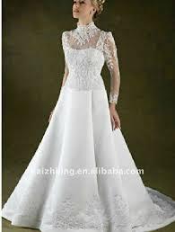 high wedding dresses 2011 traditional catholic wedding dress sleeves high