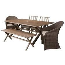 Belleville Patio Furniture Hampton Bay Pembrey Rectangular Patio Dining Table Outdoor Metal
