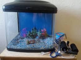 aquarium tropical fish tank pod 48 l with eheim 400 air
