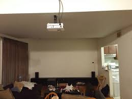 best inexpensive home theater projector put together a relatively cheap diy home theater for our college