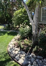 Rock For Garden Garden Ideas River Rocks For Landscaping River Rock Landscaping