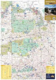 World Deserts Map by Victoria U0027s Deserts 4wd Map Buy Map Of Victoria U0027s Deserts Mapworld