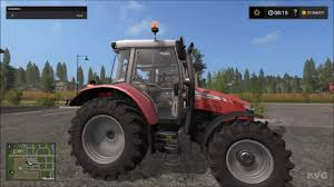 farming simulator 17 massey ferguson mf 5600 gameplay pc hd