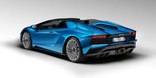 lamborghini aventador convertible 2018 lamborghini aventador s roadster on sale from 825 530