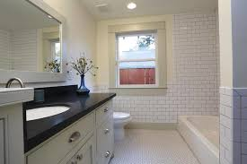bungalow bathroom ideas heights bungalow remodel craftsman bathroom houston by