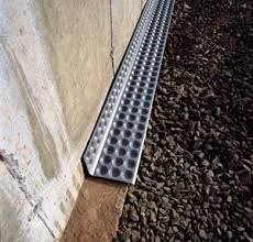 Interior Perimeter Drainage System Cactusboard Basement Drain Foundation Footing Wall Drain