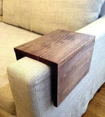 sofa arm tray armchair arm protector flexible wooden sofa armrest