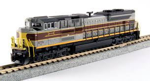 n scale emd sd70ace precision railroad models