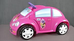 pink convertible volkswagen power wheels dora u0026 friends volkswagen new beetle from mattel