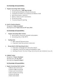 Tax Accountant Job Description Resume by Resume Binay Kr