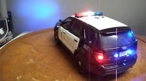 1 18 Scale Lapd Ford Explorer Suv Diecast Car Custom Built Youtube
