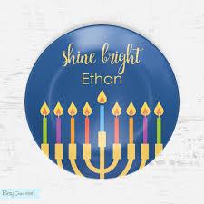 hanukkah plates shinebright plate2 jpg
