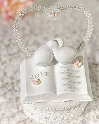 dove cake topper porcelain verse bible with doves and accents