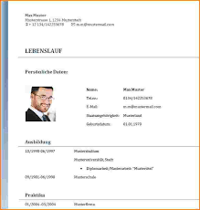 Lebenslauf Vorlage Doc Vorlage Lebenslauf Doc Reimbursement Format