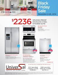 Stainless Steel Kitchen Appliance Package Deals - appliance frigidaire package deals lowes stainless steel kenmore