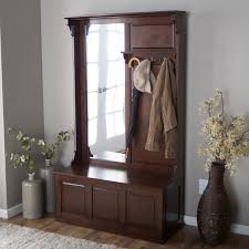 Mudroom Coat Rack by Entrance Bench Seat For Shoes Entryway Coat Rack And Image On