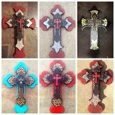 wooden crosses for crafts custom made wooden decorative stacked cross by ballardb314 on etsy