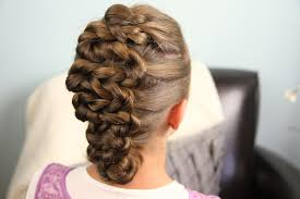 cute girl hairstyles how to french braid twisted zig zag updo hairstyle cute girls hairstyles medium hair