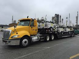 flatbed trucking equipment hauling photos