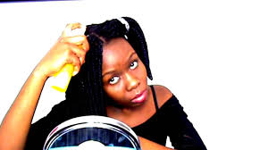 freeze braids hairstyles how to wash braids no freeze braided bob youtube
