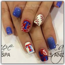 texas rangers nails cute nails designs pinterest texas nail