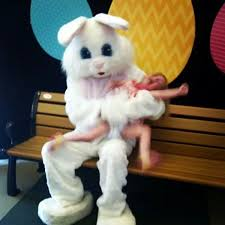 my easter bunny there is no escaping the mall easter bunny he gets paid to