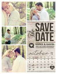 Rustic Save The Date Cards Written