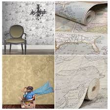 Vintage Map Wallpaper by Navigator Vintage Map U0026 Globetrotter Map Wallpaper Arthouse Holden