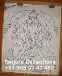 making of tanjore painting step by step procedure u2013 tanjore