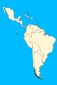 United States Map Quiz Fill In The Blank by Latin America Physical And Political Map Mrs Davis 6th Grade Maps