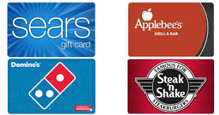100 sears gift card only 85 discounted domino u0027s applebee u0027s