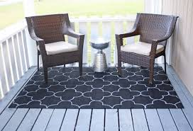 Discount Outdoor Rug Outdoor Rug On The Cheap An Easy Diy Project