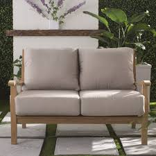 What Is At Cushion Loveseat Patio Loveseats You U0027ll Love Wayfair