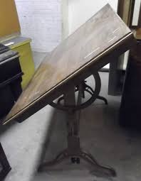 Hamilton Industries Drafting Table Antique Hamilton Chion 1917 Drafting Table Cast Iron Base Steam