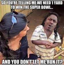 Superbowl Meme - marshawn lynch super bowl xlix meme sports unbiased