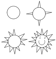 draw the sun for