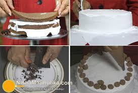 how do you make a cake eggless black forest cake recipe nishamadhulika