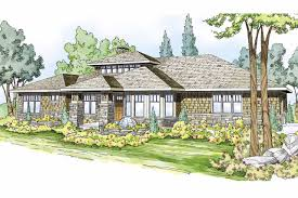 style ranch homes prairie style house plans metolius 30 746 associated designs
