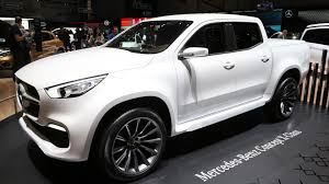 mercedes pick up mercedes benz says there s no business case for x class in u s