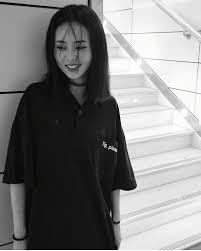 japanese harajuku bf loose letters print short sleeve cotton black