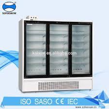 glass door chest freezer commercial glass door freezer commercial glass door freezer