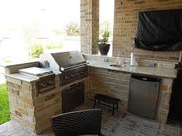 Patio 26 Outdoor Kitchens Decor Small Outdoor Kitchen Space Jacki Mallick Designs Llc Garden