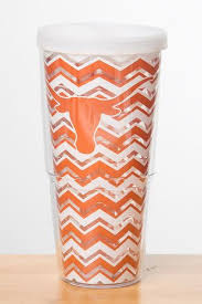 longhorn 24 oz burnt orange chevron tervis tumbler co op
